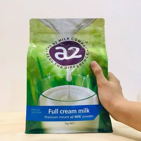 Trên tay sữa A2 của úc