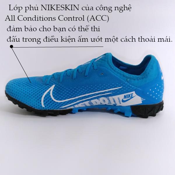 lớp phủ nike skin của giày đá bóng nike mercurial