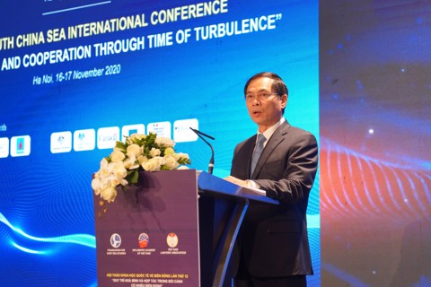 Keynote Speech by H.E. Bui Thanh Son, First Deputy Minister for Foreign Affairs at the Opening Sesion