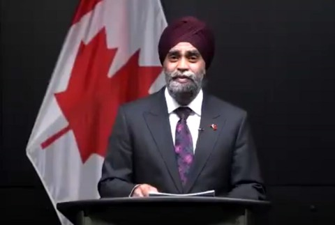 Welcome Dinner Keynote Address by Canadian Minister of National Defence, the Honourable Harjit S. Sajjan