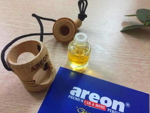 Hướng dẫn sử dụng tinh dầu thơm treo xe oto AREON FRESCO