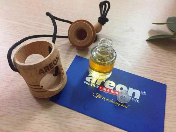 Hướng dẫn sử dụng tinh dầu treo ô tô AREON FRESCO 2