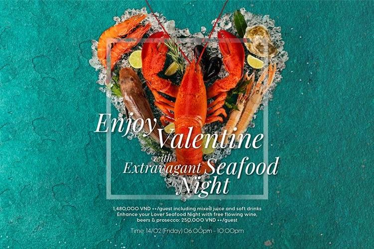 Valentine Seafood Dinner