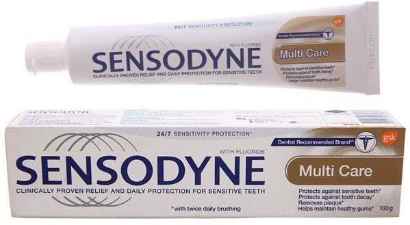 kem đánh răng sensodyne multi care có tốt không