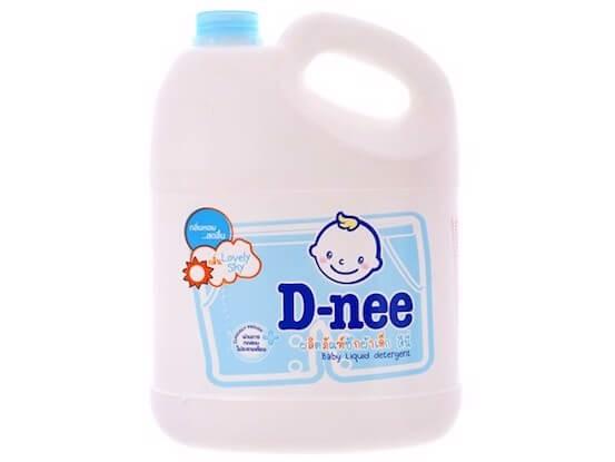 nước giặt thơm lâu dnee xanh cho bé