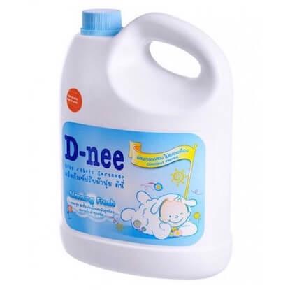 nước xả vải cho bé Dnee Xanh Morning Fresh