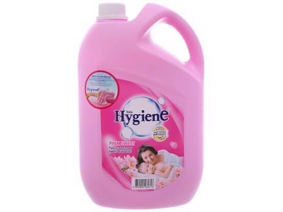 nước xả vải cho trẻ sơ sinh hygience pink sweet