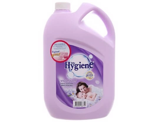 nước xả vải hygience cho bé violet soft