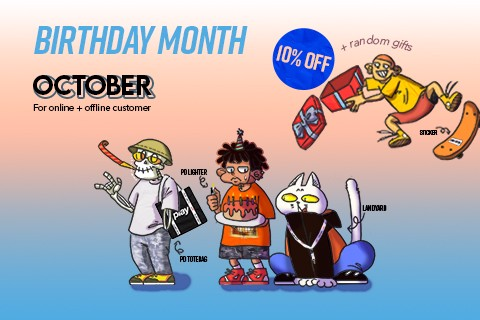 BIRTHDAY MONTH FOR EVERY CUSTOMERS