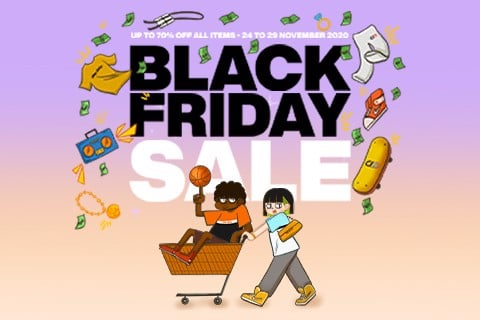 BLACK FRIDAY SALE UP TO 70%