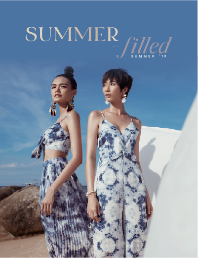 HNOSS SUMMER CAMPAIGN | SUMMER-FILLED