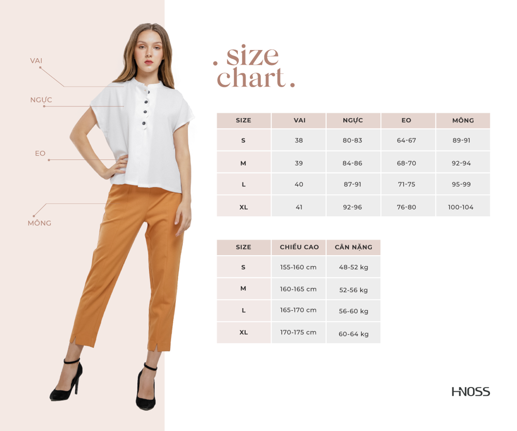 size guide HNOSS