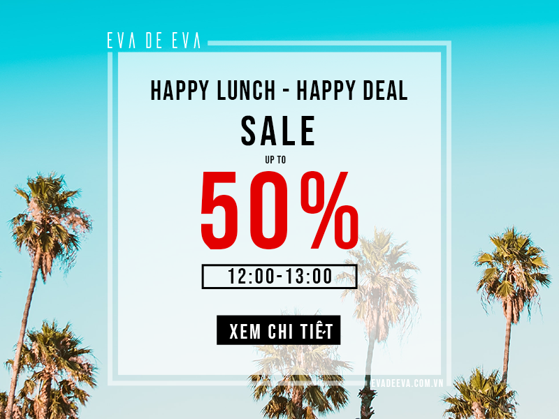 HAPPY LUNCH - HAPPY DEAL
