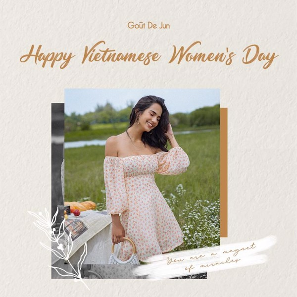 Happy Vietnamese Women's Day - Sale up to 20%
