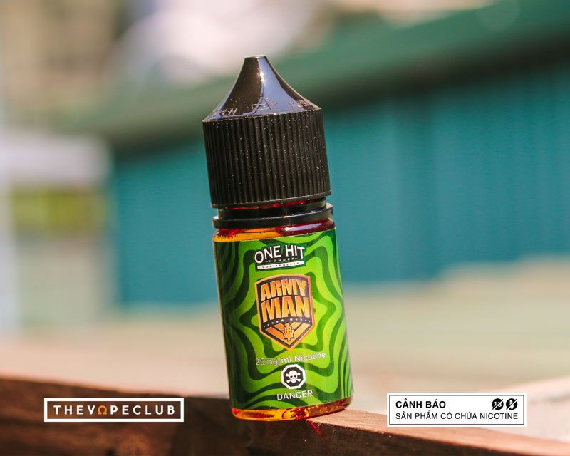 Army Man Salt Nic by One Hit Wonder (30ml)(Bánh chanh nướng)