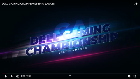 DELL GAMING CHAMPIONSHIP IS BACK!!!!