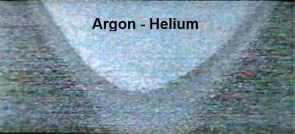 Biên dạng hồ quang Argon – Helium