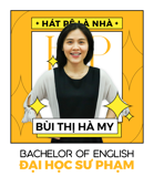 Ms. Bùi Thị Hà My - IELTS Trainer - BA in English