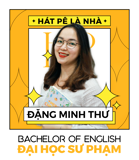 Ms. Đặng Minh Thư - IELTS Trainer - BA in English
