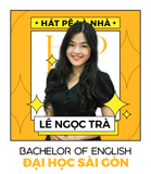 Ms. Lê Ngọc Trà - IELTS Trainer - BA in English