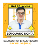 Mr. Bùi Quang Nghĩa - IELTS Trainer - BA in English