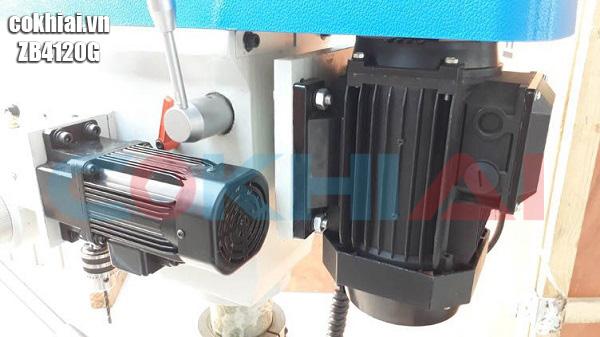 Động cơ máy khoan bàn tự động WDDM ZB4116G
