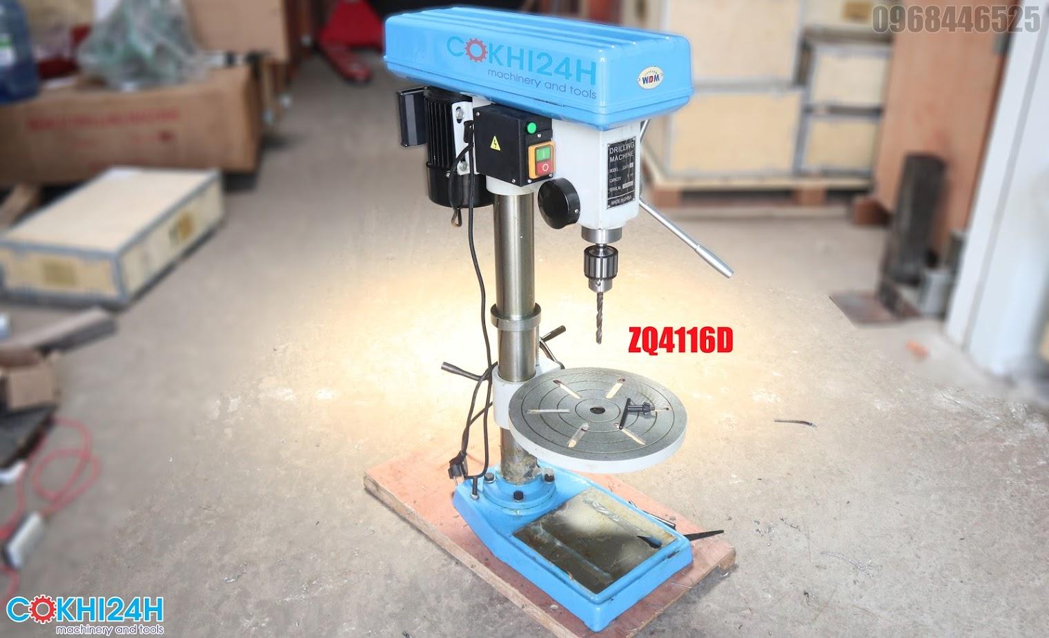 Máy khoan bàn ZQ4416D giá rẻ hiệu WDDM