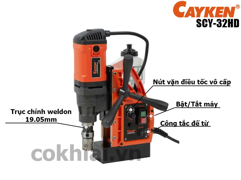 Máy khoan từ SCY-32HD thương hiệu Cayken