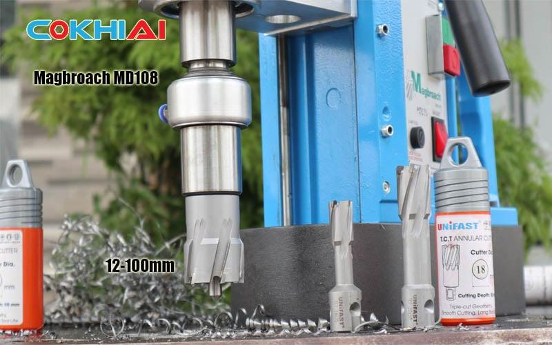 Máy khoan từ Anh Quốc công suất lớn Magbroach MD108