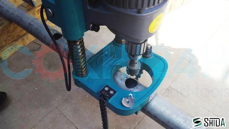 Máy khoét lỗ ống thép chuyên dụng model SDK-1