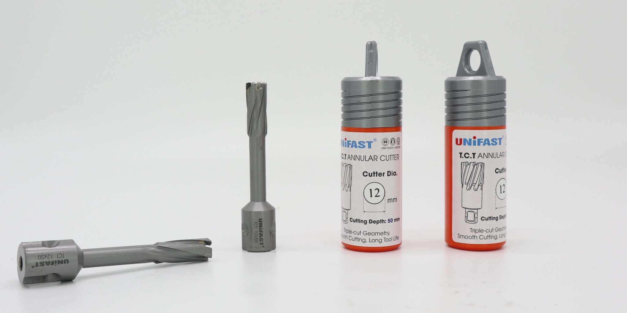 Mũi khoan từ 12x50 chuyên dùng khoan thép cứng hiệu Unifast