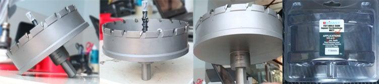 Mũi khoét lỗ hợp kim hiệu Unifast phi 114 model MCT-114