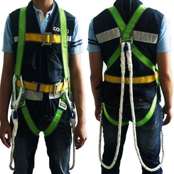quy định an toàn khi làm việc trên cao