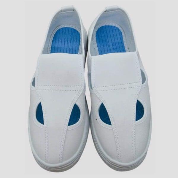 Giày Phòng Sạch 4 Lỗ Chống Tĩnh Điện Garan.vn