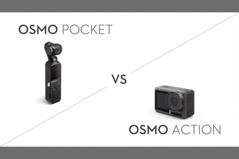 So sánh OSMO ACTION và OSMO POCKET
