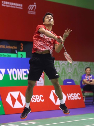 Highlights Chung kết Indonesia Masters 2020: Anthony Ginting vs Anders Antonsen