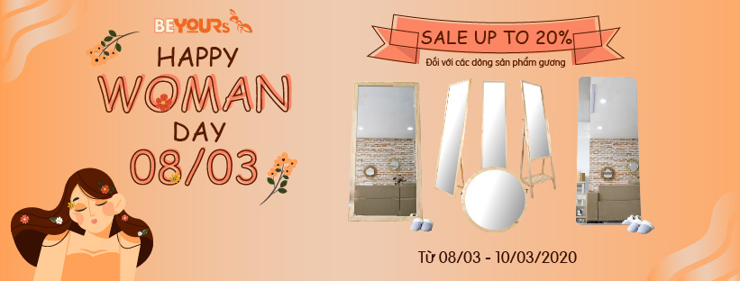 HAPPY WOMEN'S DAY 8/3 - SALE UP TO 20%