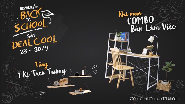 BACK TO SCHOOL - SĂN DEAL COOL