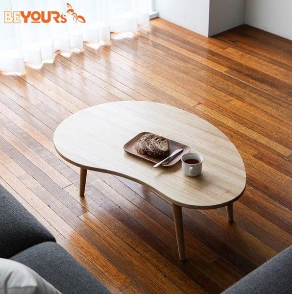 Mẫu bàn trà D Table được cách điệu về thiết kế, mang đến sự mới lạ cho không gian