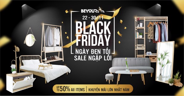 black friday nội thất beyours