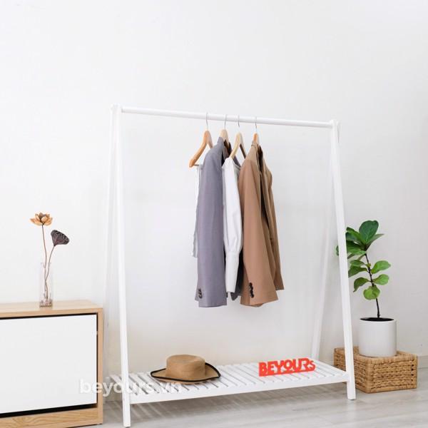 giá treo quần áo gỗ
