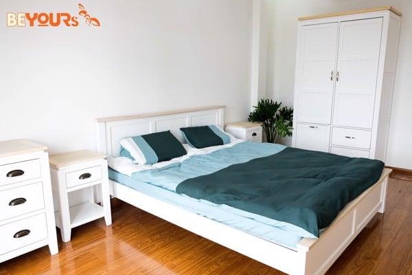Giường Freezing Fox Bed gọn gàng
