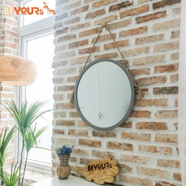 Gương tròn treo tường giúp căn nhà bạn xinh xắn hơn