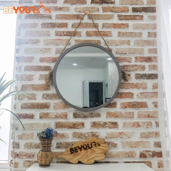 Gương tròn treo tường được thiết kế độc đáo với nhiều mẫu mã