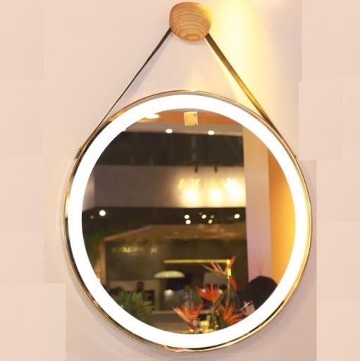 Gương treo tường đèn led