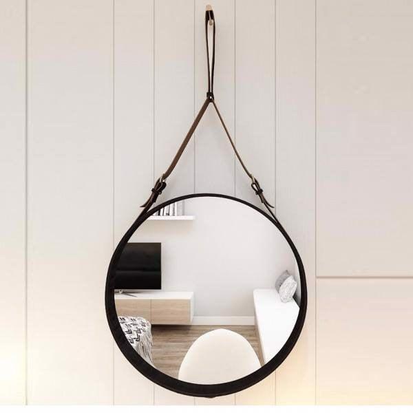 Gương tròn treo tường đem tới nguồn năng lượng