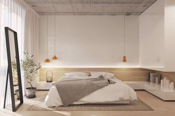 Một chút sắc màu tươi tắn đến từ tranh treo đầu giường sẽ giúp thổi hồn cho phòng ngủ của bạn thêm sinh động