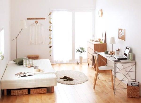Phòng ngủ tối giản Hàn Quốc