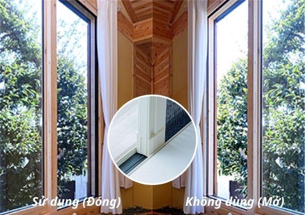 cách phòng muỗi trong nhà bằng việc lắp đặt cửa lưới chống muỗi