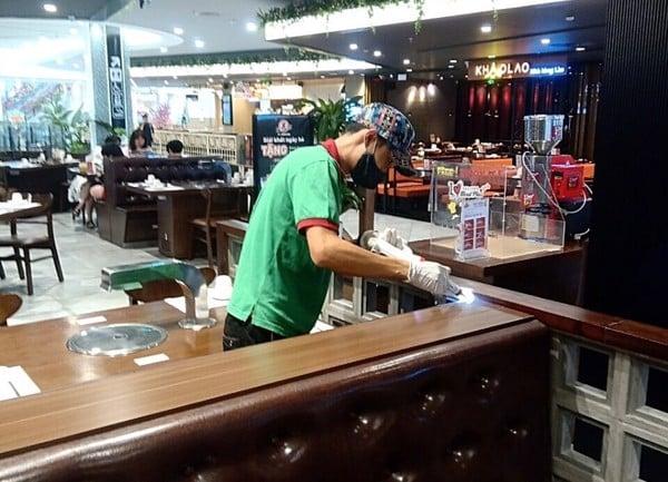 kiểm soát gián tại nhà hàng tại aeon Hà Đông